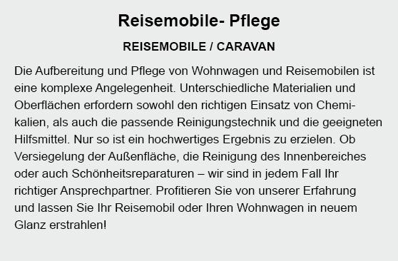 Aufbereitung Reisemobile in  Neckarsulm