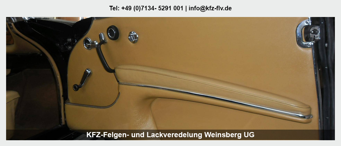 Fahrzeugaufbereitung Weinsberg - KFZ-Felgen- und Lackveredelung Weinsberg UG: Parkdellen- und Hagelschadenreparatur, Felgenreparatur