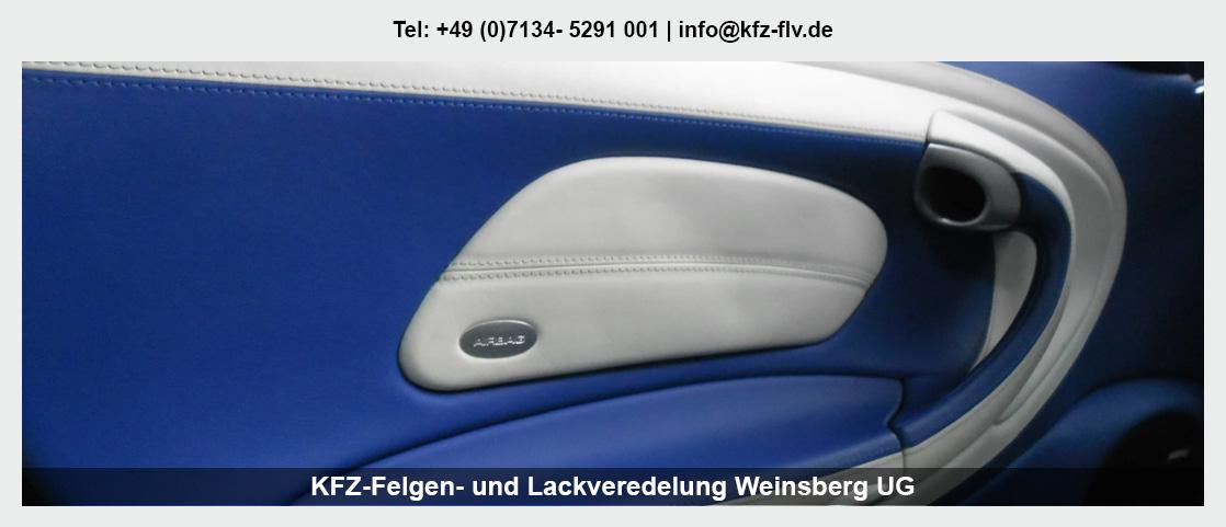 Fahrzeugaufbereitung in Obersulm - KFZ-Felgen- und Lackveredelung Weinsberg UG: Parkdellen- und Hagelschadenreparatur, Interieur-Reparatur