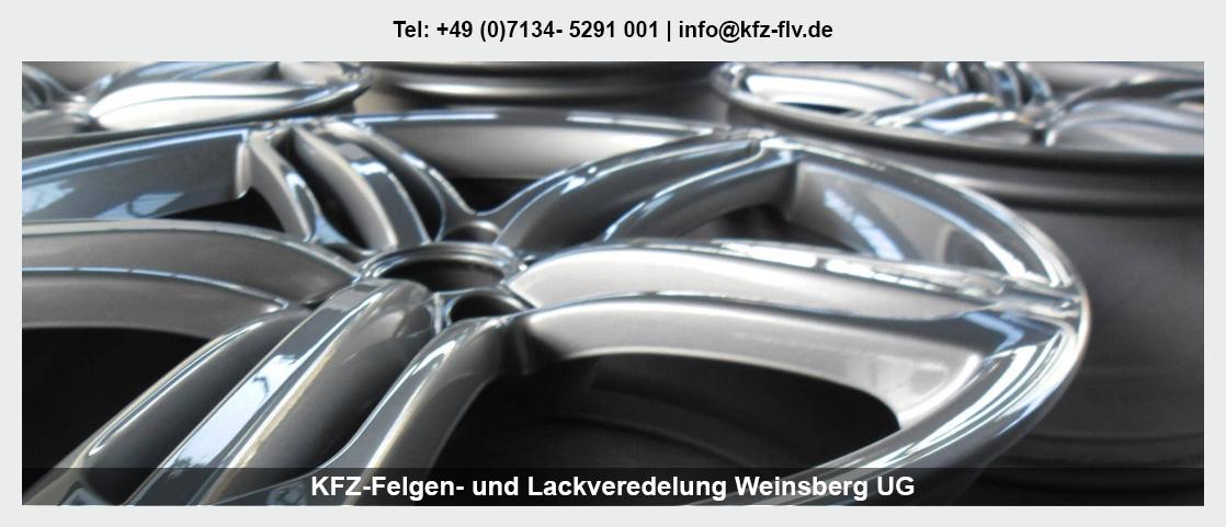 Fahrzeugaufbereitung Besigheim - KFZ-Felgen- und Lackveredelung Weinsberg UG: Parkdellen- und Hagelschadenreparatur, Lackreparatur