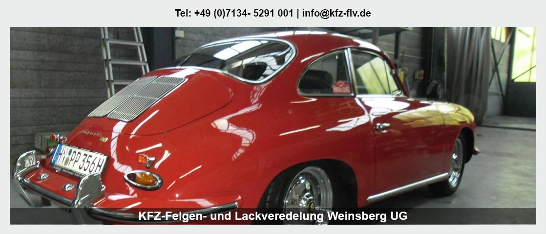 Fahrzeugaufbereitung Ellhofen - KFZ-Felgen- und Lackveredelung Weinsberg UG: Parkdellen- und Hagelschadenreparatur, Lackreparatur
