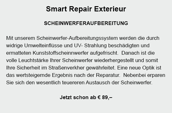Smart-Repair in 74246 Eberstadt